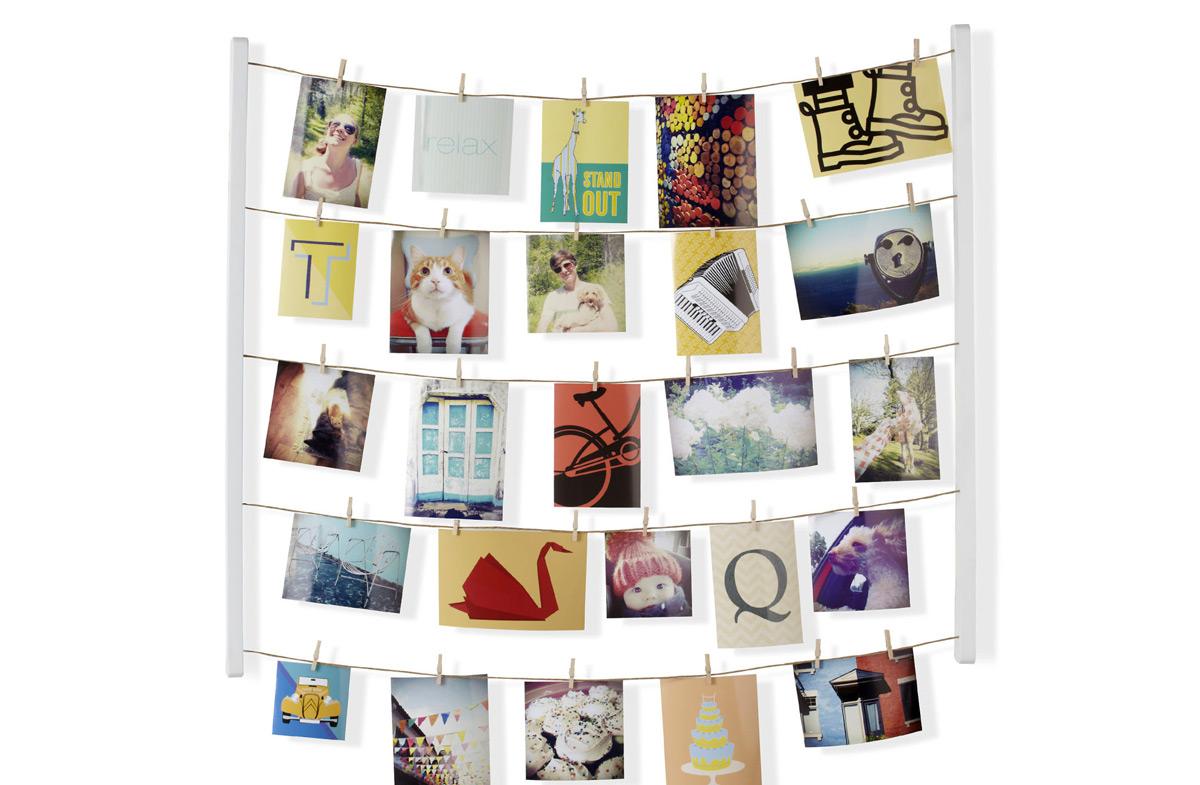 Original marco para 'tender' las fotos