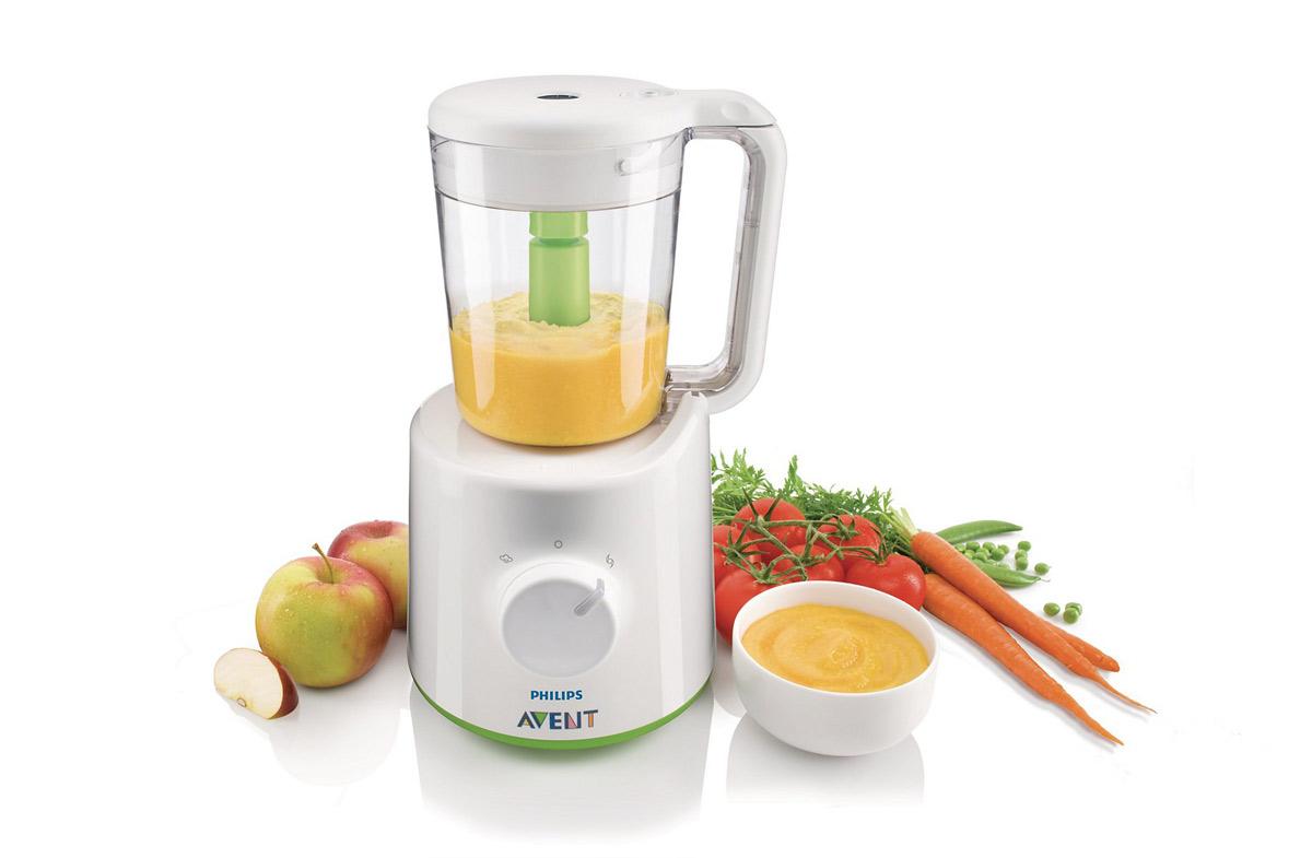 Robot de cocina avent genial vaporera y for Robot de cocina batidora