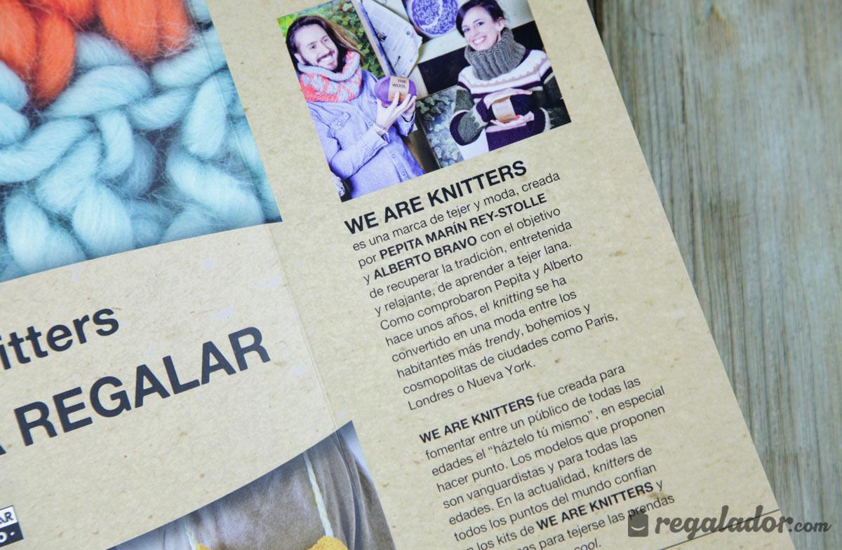 Libro: We are Knitters, las mejores ideas para regalar en Regalador.com