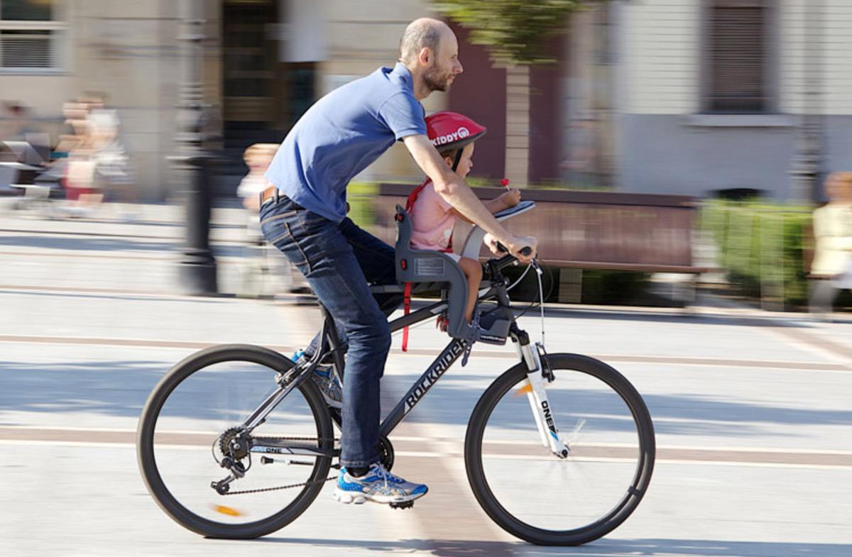 Weeride la mejor sillita delantera para la bici en for Silla nino bicicleta
