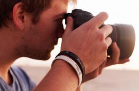 Pulseras réplica de objetivos Canon (35mm, 85mm, 17-40mm)
