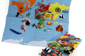 El Mapa del mundo más grande y divertido