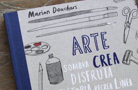 'Arte, crea tu libro'. Genial para aprender a pintar