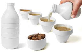 Withmilk: la botella de leche ¡sorpresa!