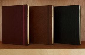 Funda DODOcase de cuero para iPad 2, 3 y 4
