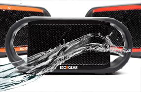ECOXBT: El altavoz portátil, inalámbrico ¡y sumergible!