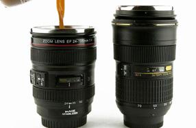 Termo réplica exacta de Objetivo Nikon