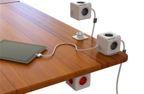 Powercube: Alimentador modular que incluye USB