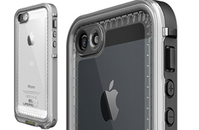 Funda Lifeproof Nüüd con pantalla al descubierto para iPhone 5 y 5S