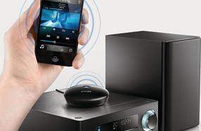 Adaptador bluetooth Philips para equipos Hi-Fi