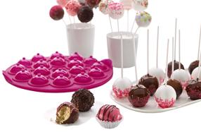 Cake-Pops: piruletas de bizcocho para reposteros creativos