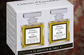 Aceite de Oliva Virgen Chateau d'Estoublon con aroma a oliva y trufa