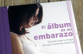 Libro para futuras mamás: 'El álbum de mi embarazo'