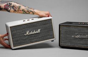 Marshall Stanmore: el altavoz bluetooth y portátil más cool