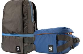 Bolsa para equipo de fotografía que se convierte en mochila