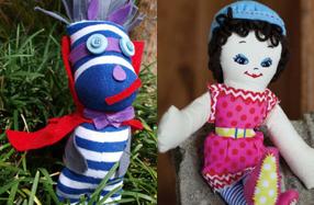 Crea y diseña tu propia muñeca de trapo