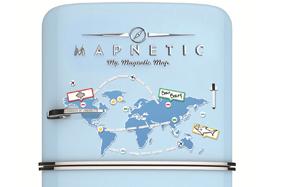 Mapnetic: el mapa magnético con el que diseñar rutas y viajes