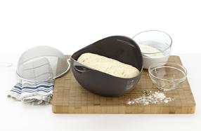 Panera de Lékué para hacer pan casero... y pan para celíacos