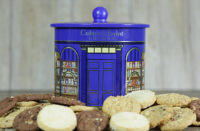 Bote de galletas tradicionales de Crabtree & Evelyn