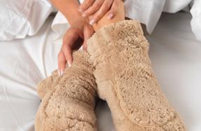 Zapatillas térmicas para microondas