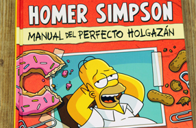 "Libro: ""Homer Simpson: Manual del perfecto holgazán"""