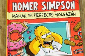 "Libro: ""Homer Simpson: Manual del perfecto holgazán"""