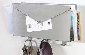 El organizador de cartas y llaves más original