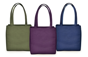 La bolsa térmica estilo Shopper para llevar la comida