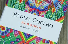 La agenda 'Alquimia' 2015 de Paulo Coelho