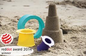 El juguete más premiado para hacer castillos de arena: 'Alto' de Quut