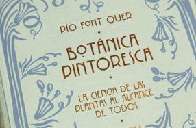 'Botánica Pintoresca' de Pio Font Quer