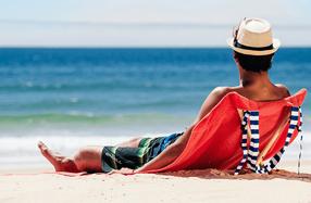 Origama 'Sun Seat': la toalla-tumbona más original y práctica