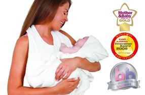La toalla de baño para bebés más práctica y premiada