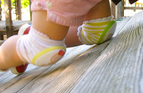 Rodilleras para niños y bebés 'Crawling'
