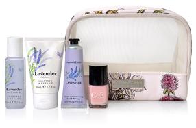 Estuche de viaje de Crabtree & Evelyn: cosmética de lujo