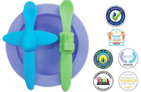 Set de vajilla infantil de silicona Oogaa ¡la más premiada y divertida!