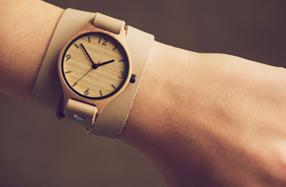 El reloj de bambú ecológico con más estilo para mujeres