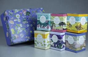 Selección de tés ingleses de Crabtree & Evelyn