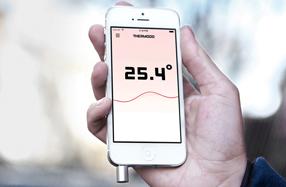 Thermodo: Termómetro de bolsillo para smartphones