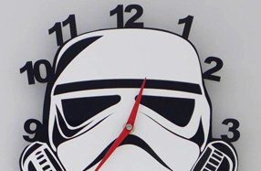 Relojes de pared para fans de Star Wars