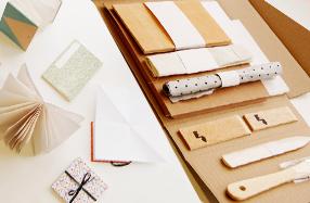 Kit para realizar encuadernaciones artísticas
