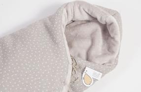 """Saco polar para bebés de """"Baby Shower"""""""