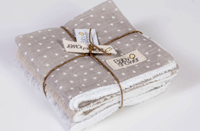 "Set de mini toallitas para bebés de ""Baby Shower"""