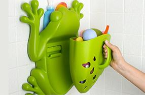 Boon, el guarda juguetes más divertido y práctico para el baño