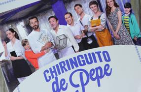 """""""El chiringuito de Pepe"""", el libro de recetas de la serie"""