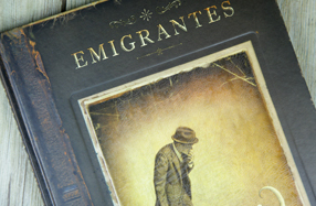 """Emigrantes"" Un extraordinario libro sin palabras de Shaun Tan"