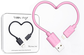 Happy Plugs: cables para iPhone y iPad de ¡2 metros!