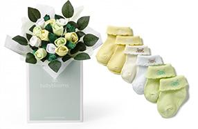 "Bouquet de ropita para bebé: versión ""hola baby"""