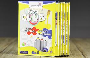 """Kids Club Vaughan"", DVDs para que los peques aprendan inglés"