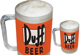 Jarra de cerveza  Duff Beer de Los Simpson para congelar